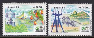 Brazil 2109-2110 MNH VF
