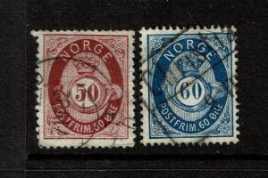 Norway SC# 30 & 31 Used - S1700