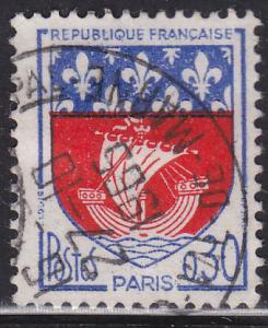 France 1095 Arms of Paris 1965