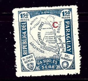 Paraguay L36 MLH 1936 overprint