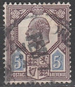 Great Britain #134 F-VF Used CV $22.50  (A3004)