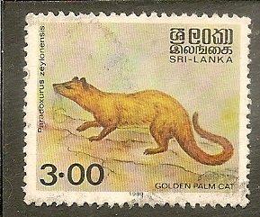 Sri Lanka   Scott 928   Animal   Used