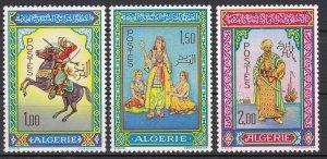 Algeria Sc #362-364 MH