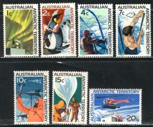 Australian Antartic Terr.; 1965-68: Sc. # L8//L15: **/MNH Short Set