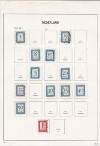 Netherlands Stamps Page ref R 16797