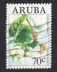 Aruba   #110  1994   used  wild fruit  70c