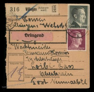 3rd Reich Germany 1944 SS Aussenlager Loibl Pass Mauthausen Concentration  91639