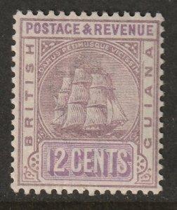 British Guiana 1889 Sc 141 MLH*