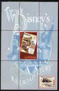 Angola 2000 Walt Disney's Railroad Story #1 perf s/sheet ...
