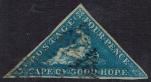 CAPE OF GOOD HOPE 1855 TRIANGLE 4D USED