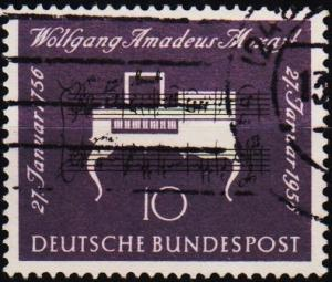Germany. 1956 10pf S.G.1154 Fine Used