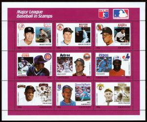 Grenada Scott 1664 Baseball Series (1988) Mint NH VF C