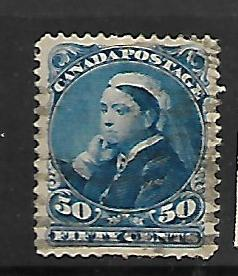 CANADA, 47, USED, STAMPS OF THE 1870-93