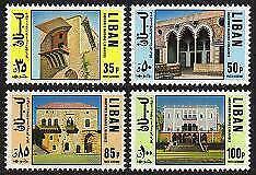 HERRICKSTAMP LEBANON Sc.# C670-73 NH Scarce Stamps