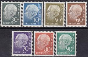 Germany #755-61 MNH   CV $34.70  Z703
