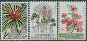 Belgium 1975 SG2378-2380 Ghent Flower Show set MNH