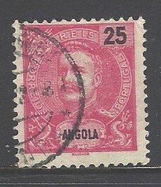 Angola Sc # 45 used (RRS)