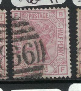 Great Britain SG 139 Pl 3 VFU (11dvn)