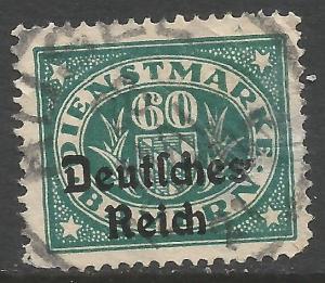 GERMANY BAVARIA O59 VFU S492-1