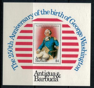 Antigua #682-3* NH  CV $7.50 Two Souvenir Sheets