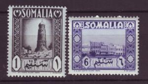 J19966  Jlstamps 1950 somalia mnh #170, 172 designs