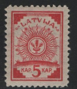 LATVIA, 2, HINGED, 1918, Arms