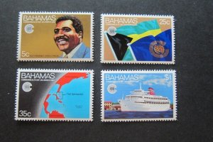 Bahamas Sc 528-531 commercial day Set MNH
