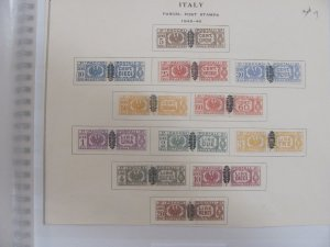 Italy Parcel Post stamps  Mlh 1945-46