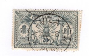 New Caledonia #46 Used - Stamp CAT VALUE $3.75
