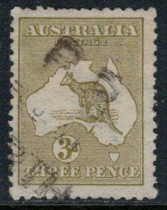 Australia #5  CV $17.50  Light cancel