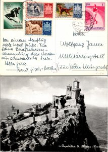 San Marino, Picture Postcards, Dogs