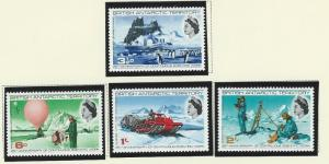 British Antarctic Territory mnh S.C.#  20 - 23