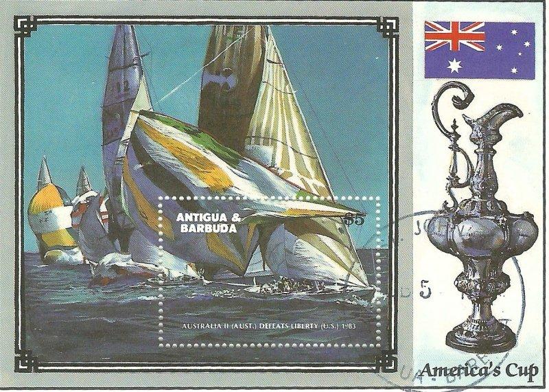 Antigua 1004  SS   NH VF 1987 PD