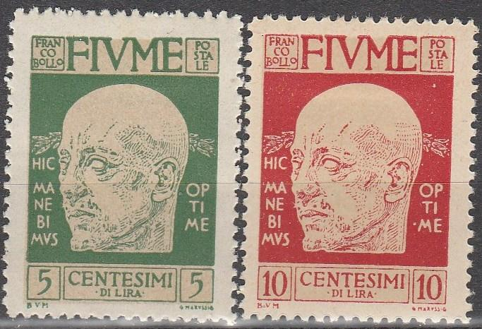Fiume #86-7  F-VF Unused  CV $4.80  (A7363)
