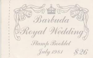 Barbuda #493-5 Complete Booklet (V2620)