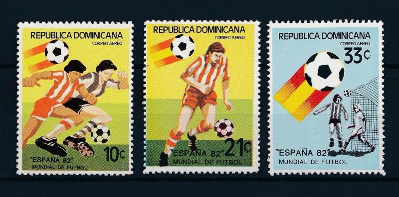 [59377] Dominican Republic 1982 World Cup Soccer Football Spain MNH