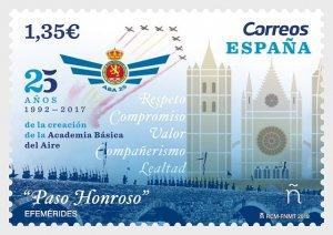 2018 Spain Basic Air Academy (Scott NA) MNH