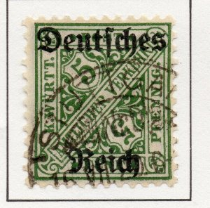 Germany 1920 Early Issue Fine Used 5pf. Optd NW-100746