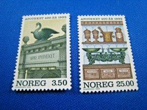 NORWAY  -  SCOTT # 1090-1091  -  LOT OF 18 SETS   MNH   (wwn29)