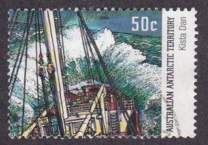 Australian Antarctic Territory # L120, Ship Kista Dan, Used, 1/3 Cat.