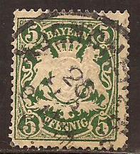 Bavaria  #  62  used .      B