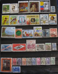 Colombia 35 Different Air Mail