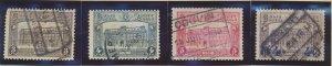 Belgium Stamps Scott #Q176 To Q179, Used - Free U.S. Shipping, Free Worldwide...
