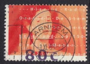 Netherlands 1993 used radio oranje  80ct   #