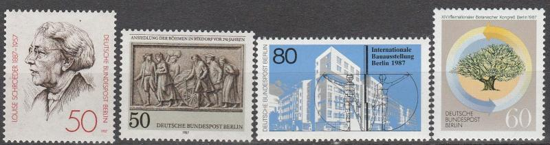 Germany #9N538-41  F-VF Unused  CV $3.95   (A6495)