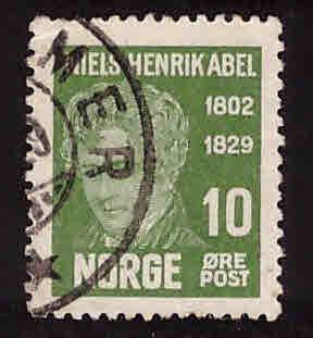 Norway Scott 145 Used stamp 1929