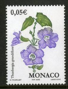 MONACO 2227 MNH BIN $0.25 FLOWERS