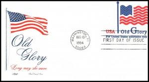 US U633 Flag Artmaster U/A FDC