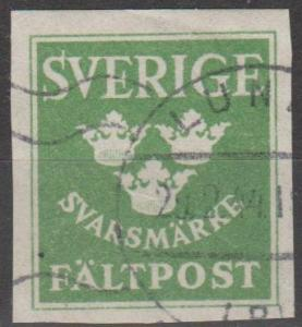 Sweden Army Post F-VF Used (C891)