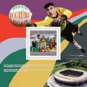Comoros - FIFA 2010 Football Championship  -  Stamp S/S 3E-323